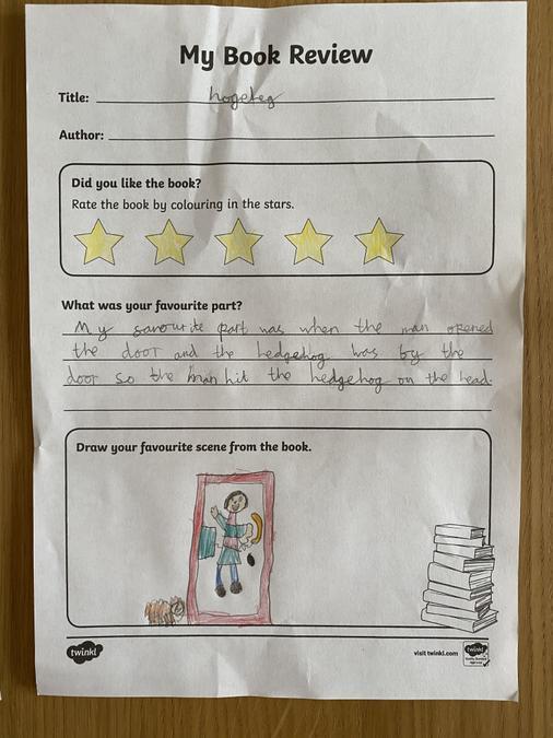 Read Keila's brilliant book review!