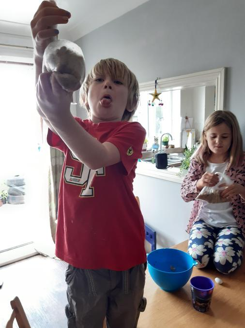 A digestion and poo experiment for Rory and Ferne
