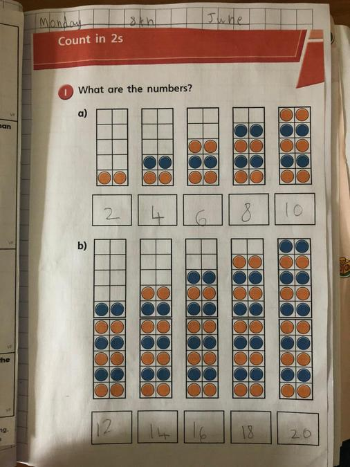 Great counting in 2s Brooke