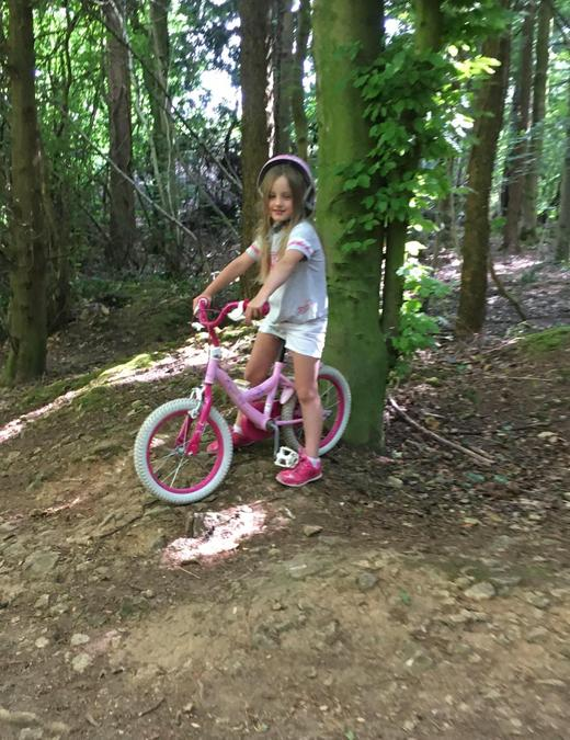 A special birthday ride for Siobhan - 7 on Monday!