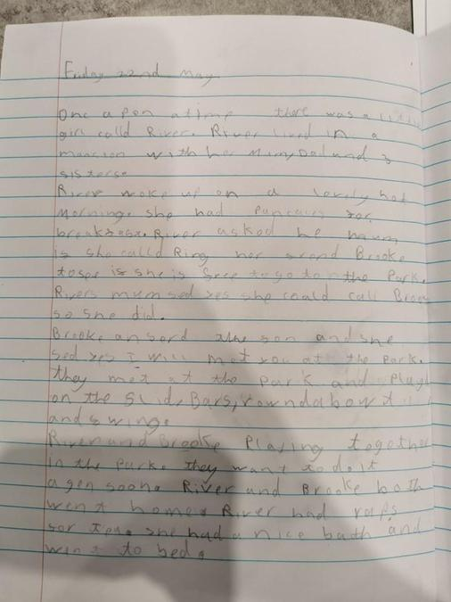 A lovely story about River and Brooke by Poppy