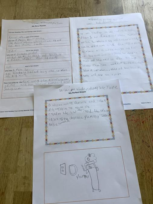 William has written about his perfect dream!