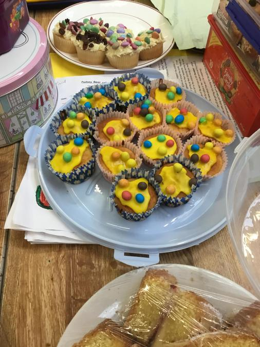 Yummy Children in Need cakes!