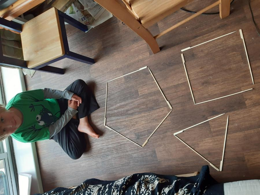 Practical maths for Rory- shapes