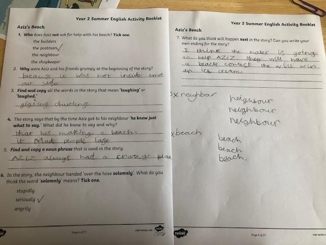 Super work answering questions about what you have read Ted