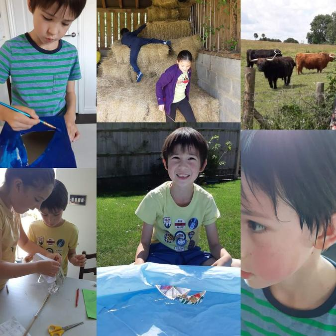 Some of the fun things William has been up to!
