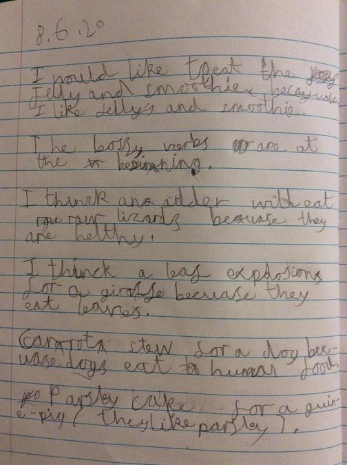 Have a look at Walter's writing!