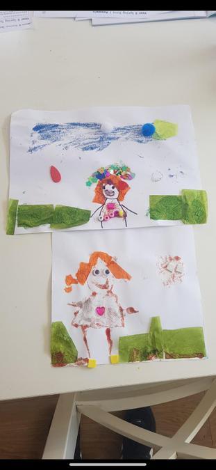Macie has done some wonderful art