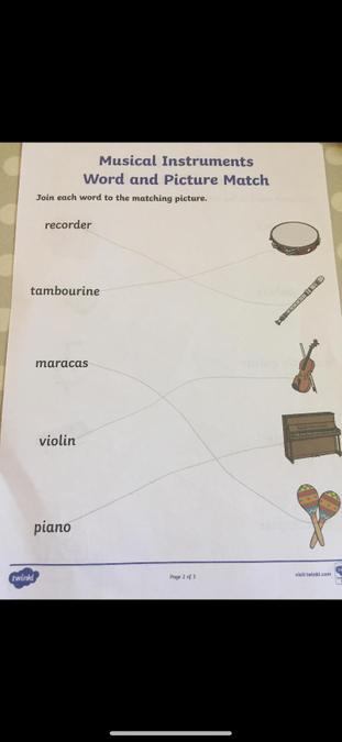 Some of Daniel's work for World Music Day