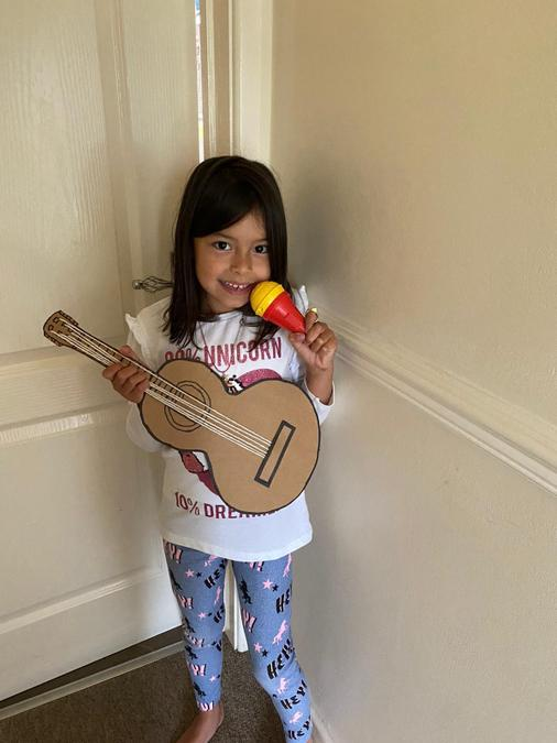 A future superstar in the making Keila!