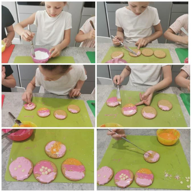 Poppy has been decorating biscuits this week!