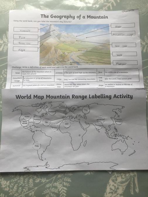 Wow- Shiv has even done some geography work!