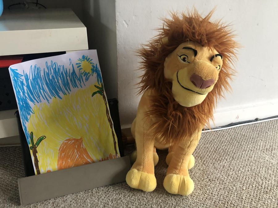 Vinnie's Lion Habitat