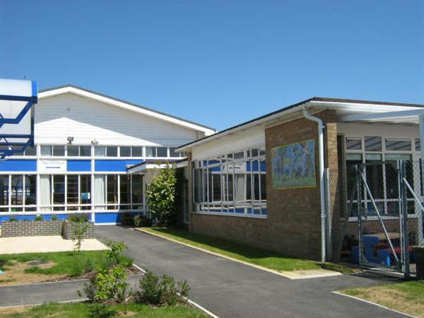 Our School entrance