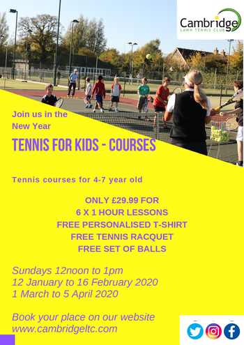 Term Time Tennis for Kids
