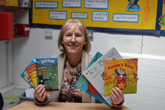 Mrs Moir, Teaching Assistant