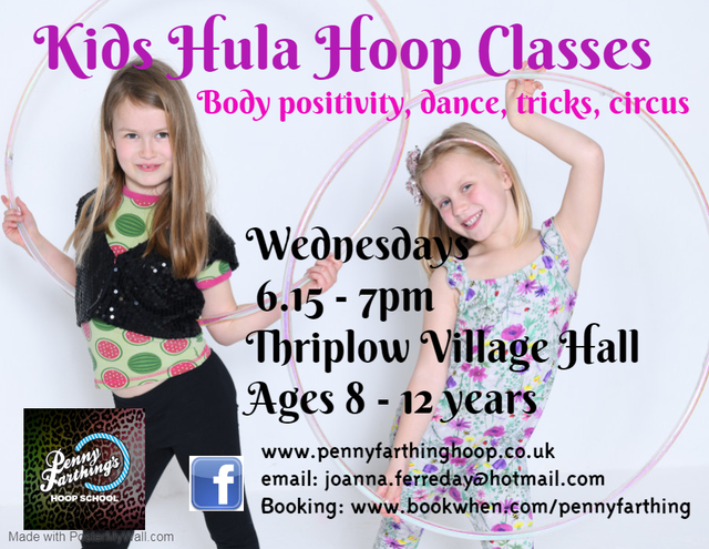 Hula Hoop Classes for Children