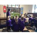 A tour of the church.