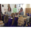 Looking at the key features of a church.
