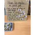 The children will be taught how to make and mould salt dough