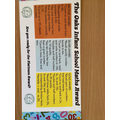 The children will be encouraged to earn their Maths award both at home and at school.