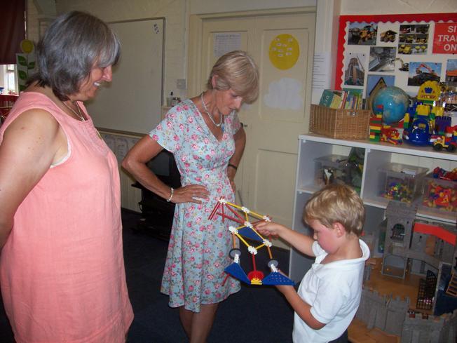 Nanna & Poppa liked my model!