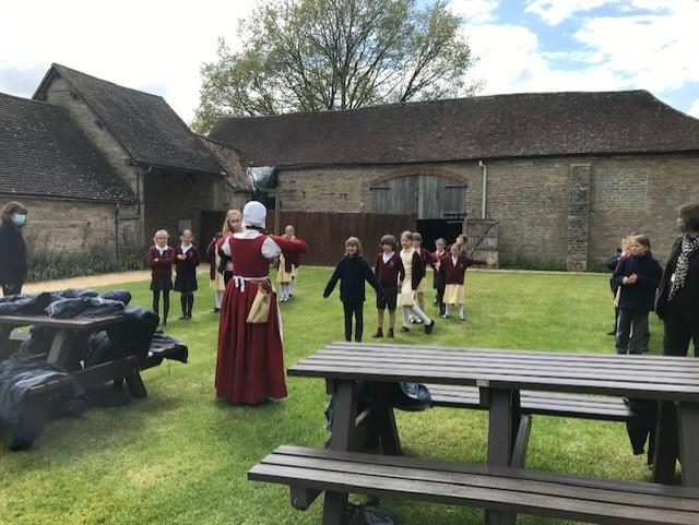 Mistress Roxanne played her Tudor flute and taught us Tudor dances!