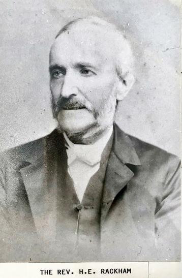 Reverand Edward Hanworth Rackham.