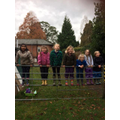 On our way to forest school