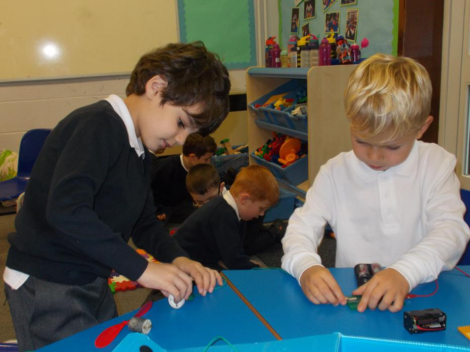 How can we make a bulb light up?