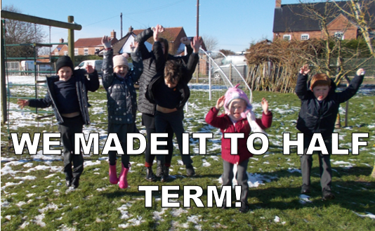 Thank you so much for all your support! Have a wonderful half term!