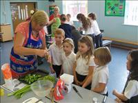 Our cook and eat day.