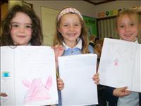 We are so proud of our work. Well done girls.