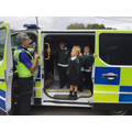We learned all about the job of a police officer