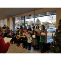 Carol Singing at Morrisons