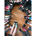 Look at all our odd socks!