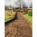 Digging of paths provided by Edward Brain & Co.