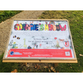 Children's sign contest won by Jemma in 3T