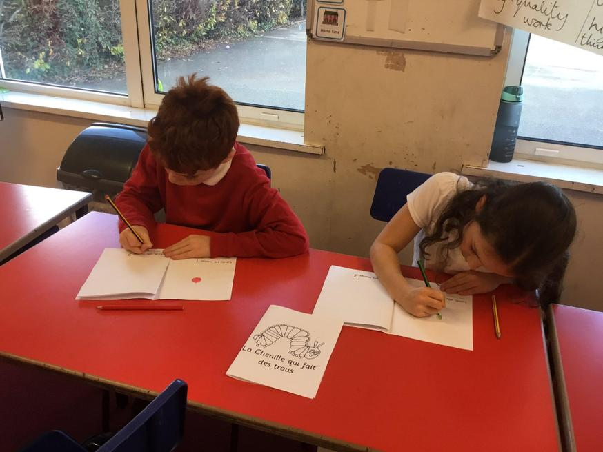 Children set about translating well loved stories!