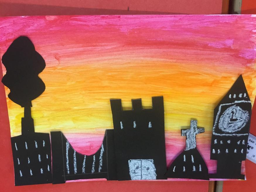 A London cityscape from Year 5