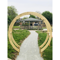 Moon Gate donated by Corinne's family