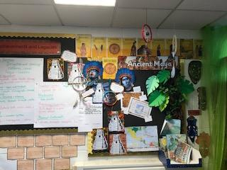 Here is our Mayan display in Aspen.