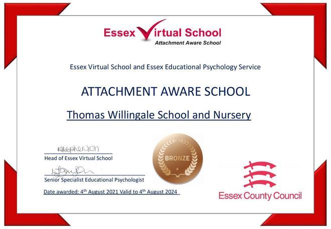 Attachment Aware Award
