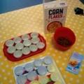 Chocolate corn flake cakes