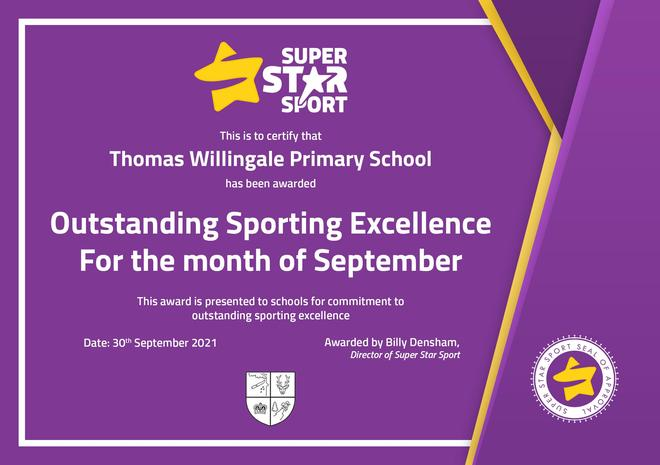 Sporting Excellence Award