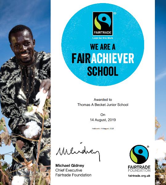 Photo of Fair Trade Certificate