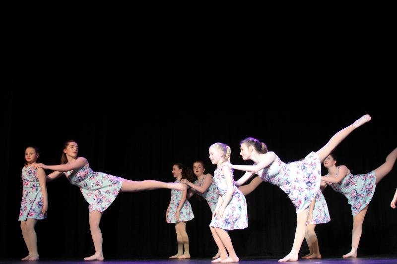 Photo showing dancers