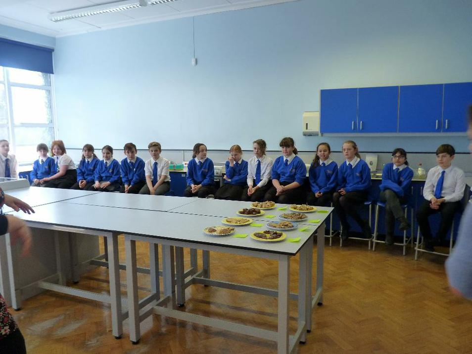 Photo of baking contestants