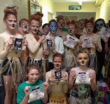 Photo of dancers from Year 7 production