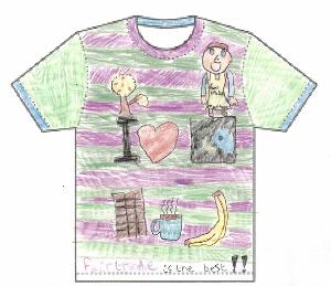 Photo of t shirt design